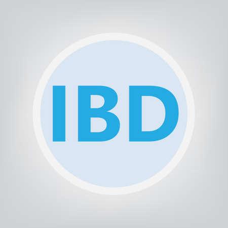IBD (Inflammatory Bowel Disease) - vector illustration