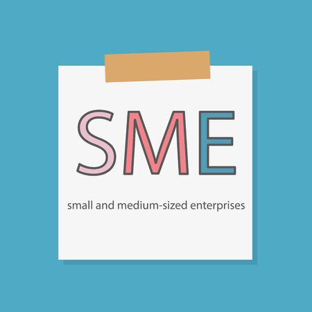 SME Small And Medium-sized Enterprises concept