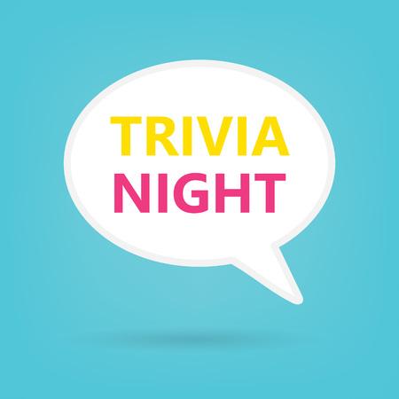 trivia night concept