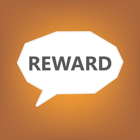 reward concept Vektorové ilustrace
