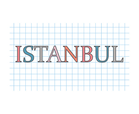 Istanbul concept- vector illustration Illustration