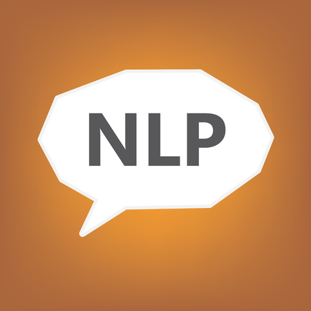 NLP (Neuro Linguistic Programming) - vector illustration Ilustrace