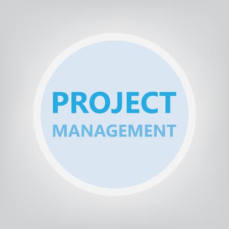 project management concept- vector illustration