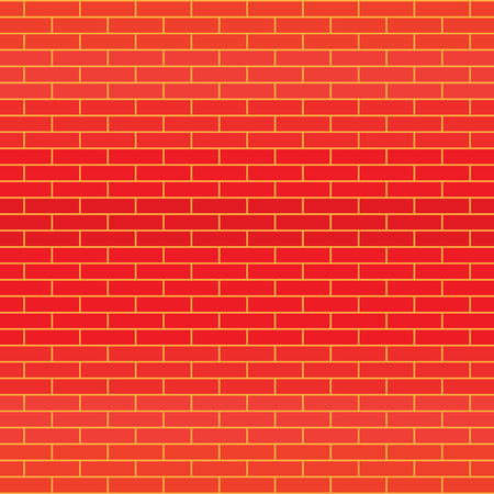 red brick wall texture- vector illustration