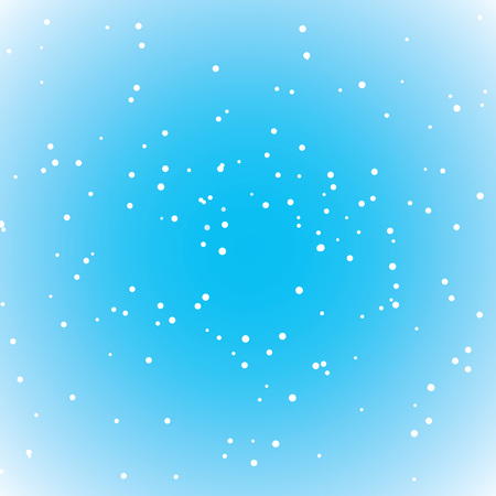 snow or white dots background Illustration