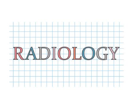 radiology concept- vector illustration Illustration