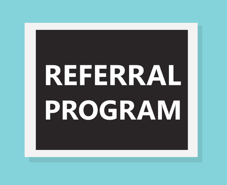 referral program concept- vector illustration