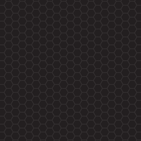 black hexagonal pattern- vector illustration