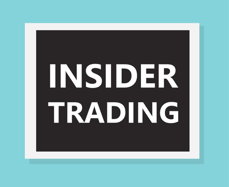 Insider trading concept- vector illustration 일러스트