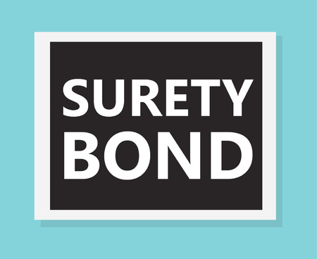 surety bond concept- vector illustration