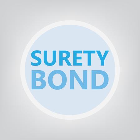 surety bond concept- vector illustration