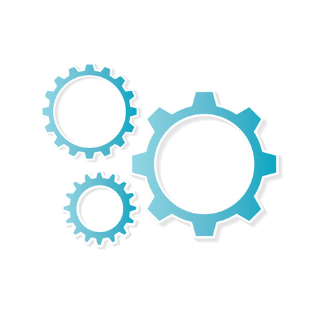 gears concept- vector illustration