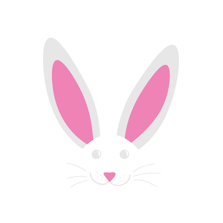 happy easter bunny- vector illustration