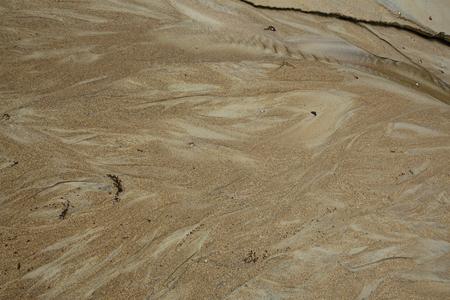 wavy wet sand texture