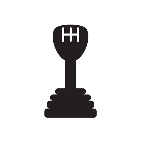 gear stick icon- vector illustration