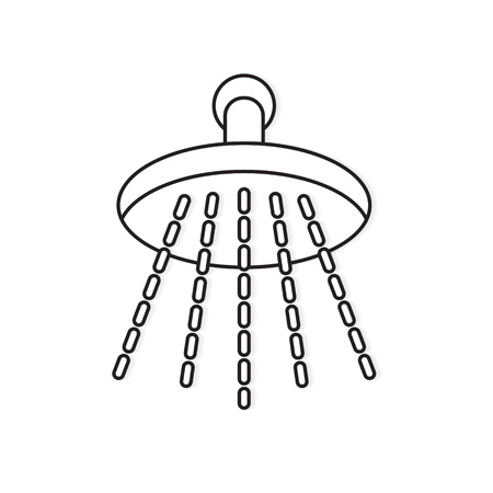 shower icon- vector illustration Illustration