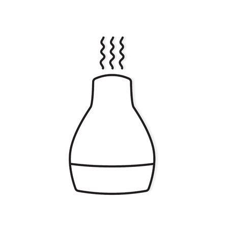Essential oils diffuser icon- vector illustration