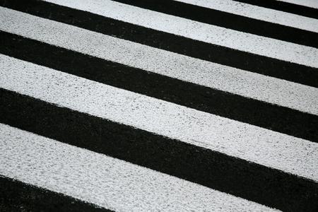 zebra crosswalk on a asphalt road background