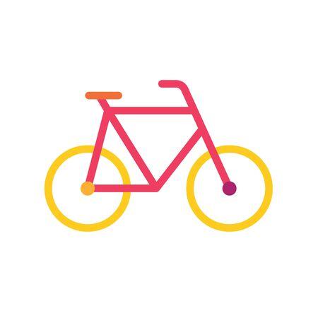 colorful bike icon- vector illustration Ilustrace