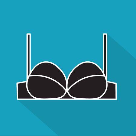 bra underwear icon- vector illustration Ilustrace