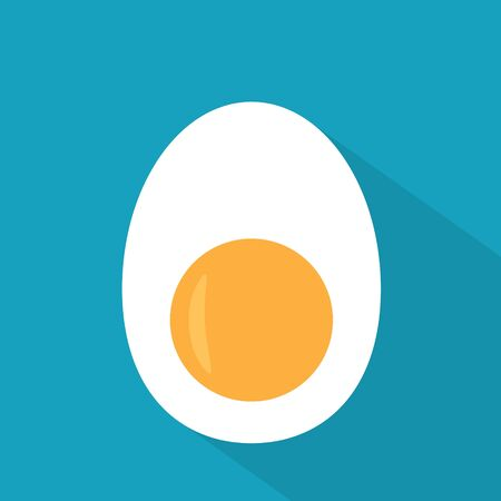 egg half icon- vector illustration