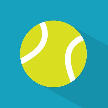 tennis ball icon- vector illustration
