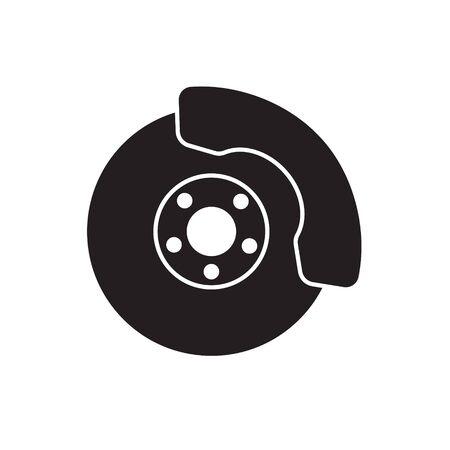brake disc icon- vector illustration