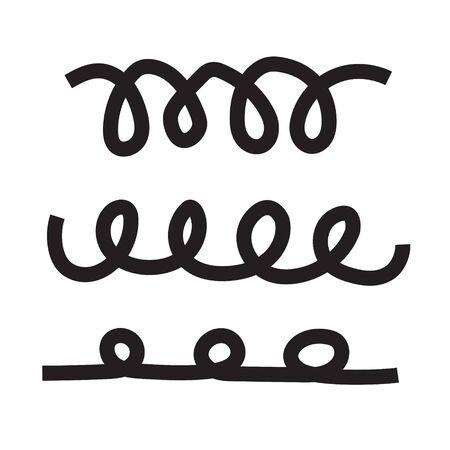 spiral line icon- vector illustration Иллюстрация