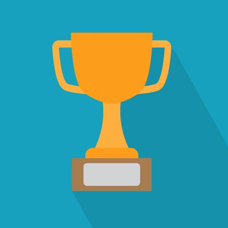winner cup icon- vector illustration