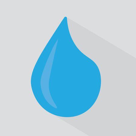tear or water drop icon- vector illustration Ilustração