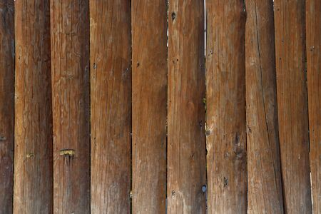 old wooden fence background Stock Photo