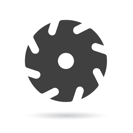circular saw icon- vector illustration Standard-Bild - 135265452