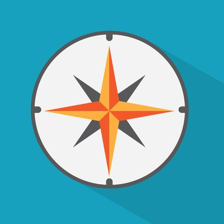 compass icon- vector illustration Illustration
