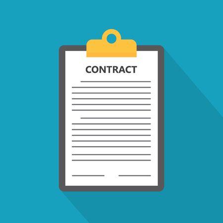 Geschäftsvertragskonzept - Vektorillustration