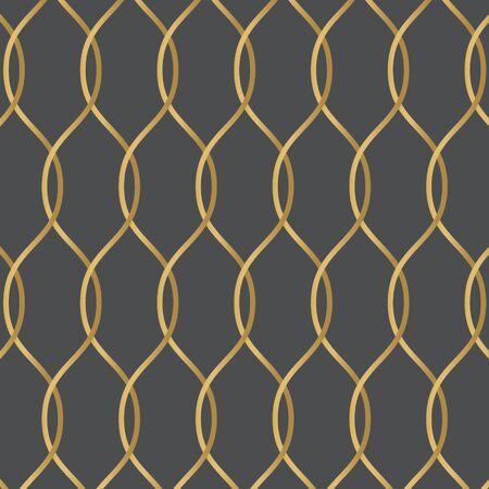golden wire fence background- vector illustration Illusztráció