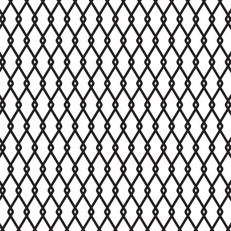 black metal wire fence background- vector illustration