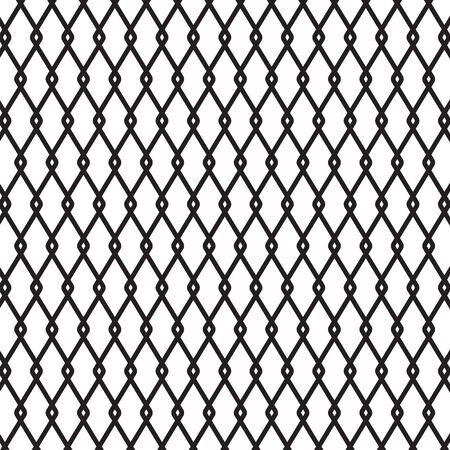 black metal wire fence background- vector illustration