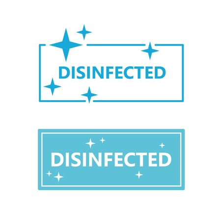 disinfected sign icon- vector illustration