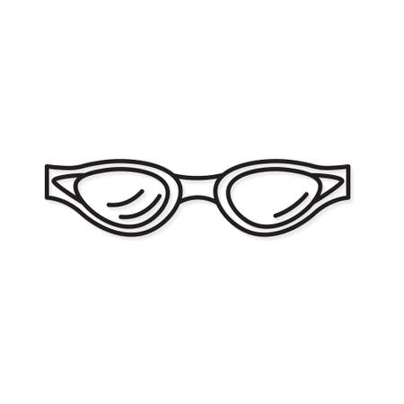 swimming goggles icon- vector illustration Vektorgrafik