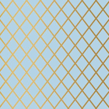 golden elegant rhombus pattern- vector illustration Vektorové ilustrace
