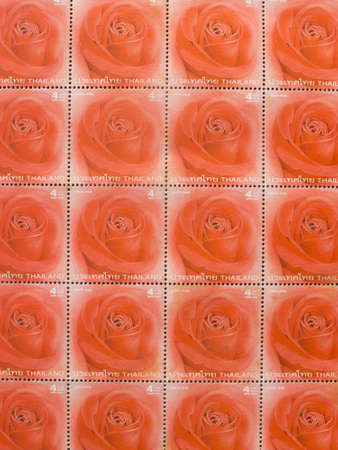 multy: Multy stamps with Roses.