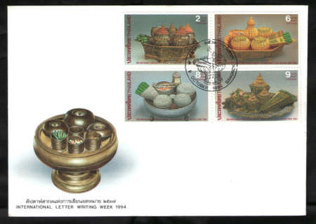 BANGKOK, THAILAND OCTOBER 9 1994  International letter writing week 1994  Stock Photo - 17007450