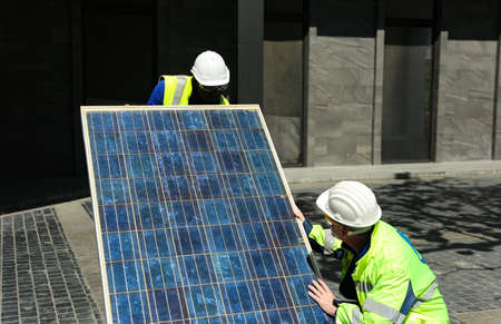 maintenance engineer, Solar energy systems engineer perform analysis solar panels
