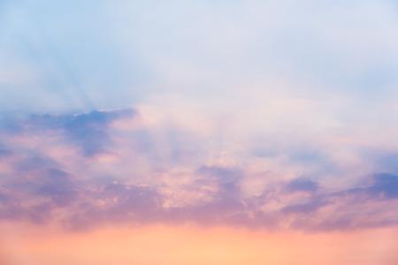 Sky in sunset Foto de archivo