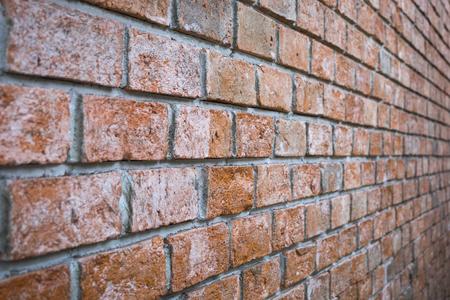 working stiff: Lightweight concrete brick wall, construction, concrete brick wall Stock Photo