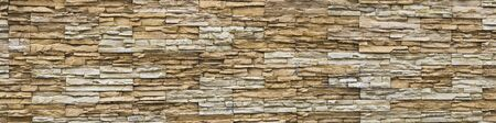 Sand stone wall closed up