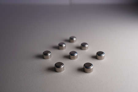 The button battery is used on the hearing aid. Standard-Bild