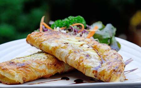 Roti Parata or Roti canai (indian pancake)