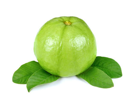 Guava fruit isolated on a white