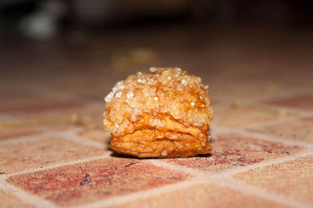 flaky: Square puff pastry  zu-zu
